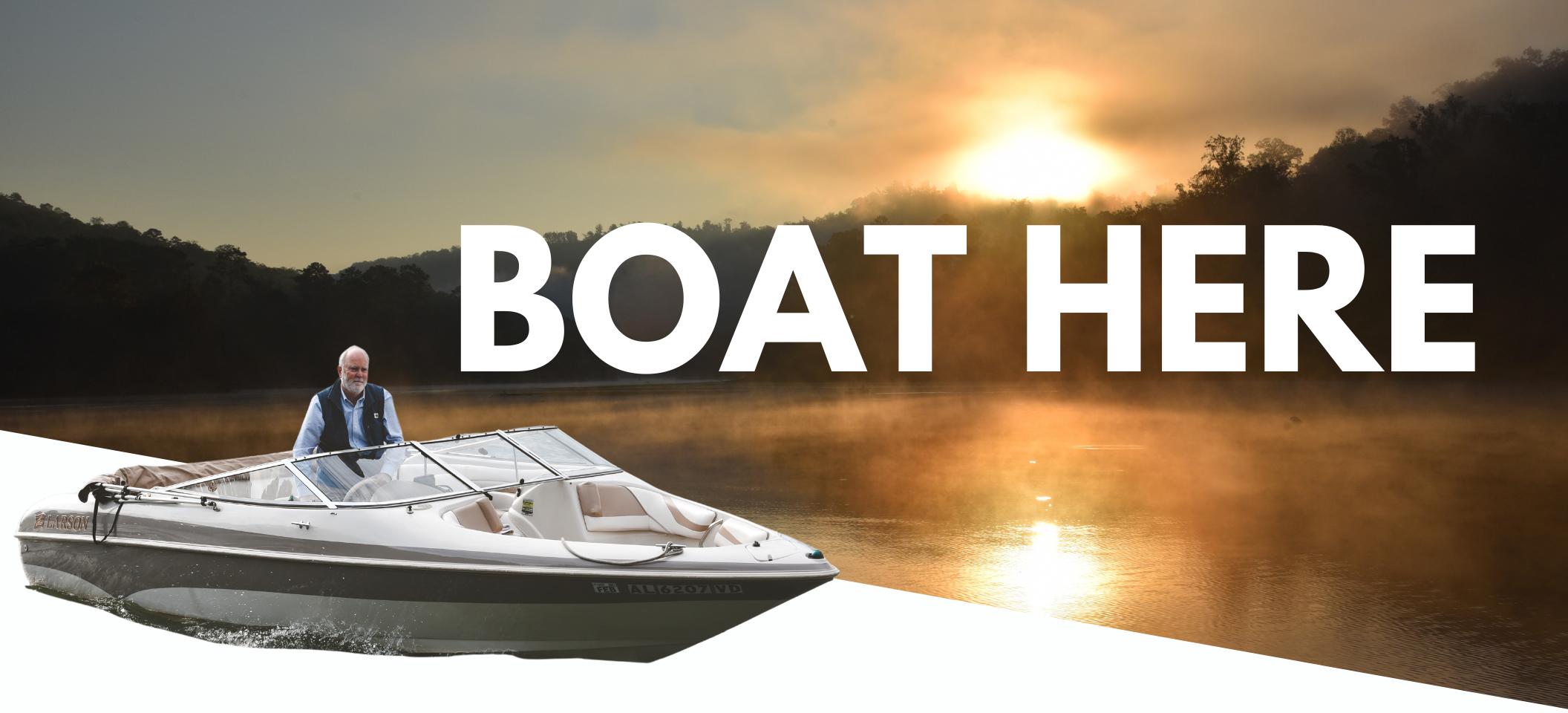Boat North Alabama